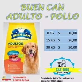 Buen Can alimento para perro adulto y cachorro