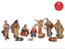 Pesebre Navidad x11 Medida: 20 cm Marca: Santini