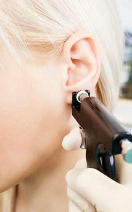Perforaciones orejas y nariz para bebes niñas y adultos