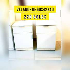 En venta veladores de 60x40x40 a 230 soles