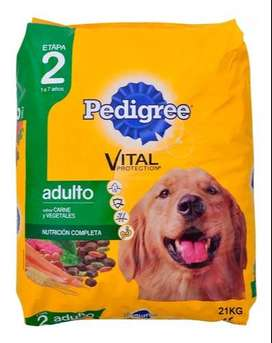 Pedigree Adulto Carne Pollo Y Cereales X 21 Kg