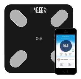 Pesa Balanza Inteligente Bluetooth Bascula Vidrio App