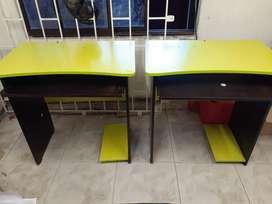 2 Escrotorio Y Silla Computador