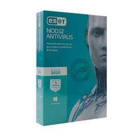 Venta de Licencias de Antivirus ESET NOD32 ANTIVIRUS ultima version 2020