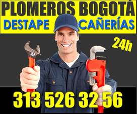 Destape de Cañerías, Plomeros disponibles en Bogotá 3135263256