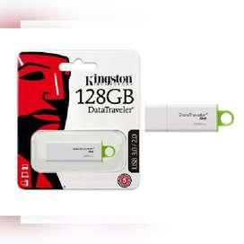 USB MEMORIA 128GB KINGSTON DTIG4 USB 3.1. CUARTA GENERACIÓN.