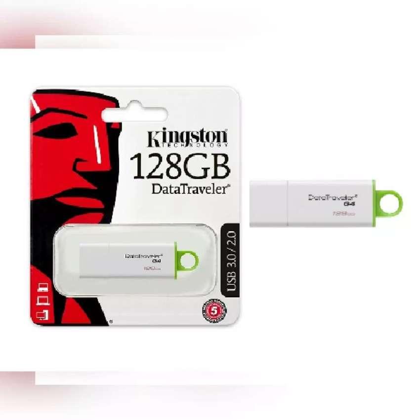 USB MEMORIA 128GB KINGSTON DTIG4 USB 3.1. CUARTA GENERACIÓN. 0