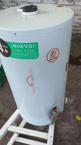 Termotanque saiar 85 lts para gas casi nuevo