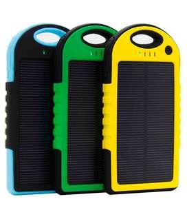 Cargador Solar Portatil Power Bank 10000 Mah Zona Tribunales