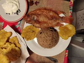 Clase de cocina caribeña en Santa Marta