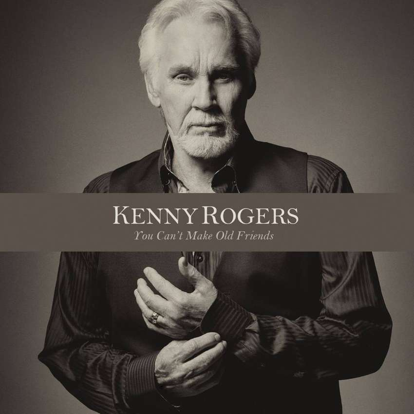 """KENNY ROGERS """"can't make old friends (1Cd, $10)"""" 0"""