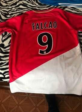 Camisa ORIGINAL del Mónaco Radamel Falcao García