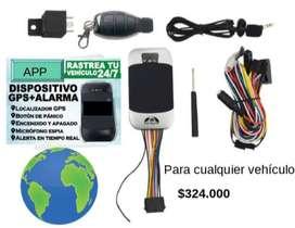 Localizador / Rastreador de vehículos GPS y Alarma