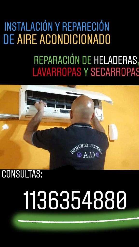 instalacion y reparacion de aire acondicionado 0