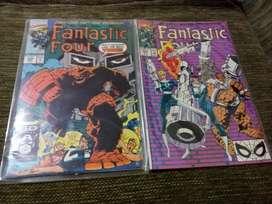 Marvel Fantastic Four 1980s Inglés