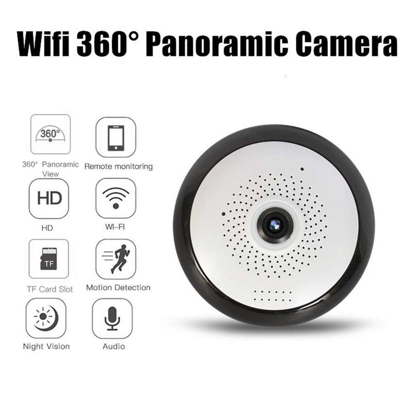 Camara De Seguridad Interior Wifi Ip Inalámbrico Mini Domo CC Monterrey local sotano 5 0