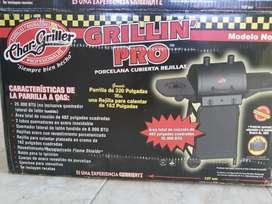 Asador de gas char-griller grillin pro modelo 2001