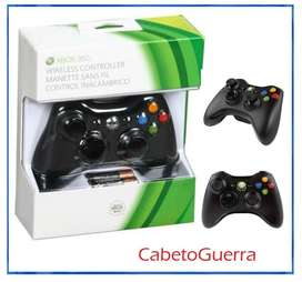 Control XboX 360 Inalámbrico Original Nuevo En Blister Sellado