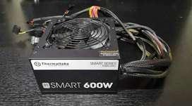 FUENTE DE PODER THERMALTAKE SMARTPOWER 600W 80+ White