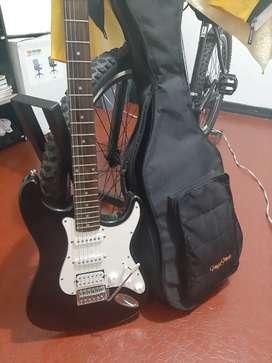 Guitarra electrica vorson y amplificador boston