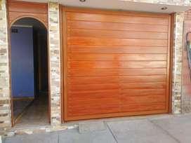 Puertas Seccionales Importados Cochera