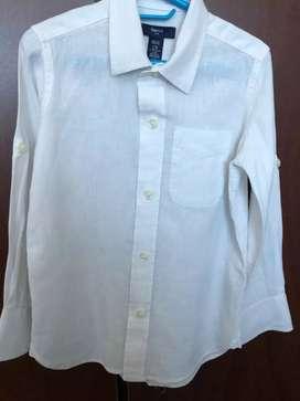 Camisa lino GAP Kids Talla 4