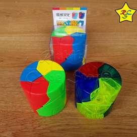 Barrel Redi Moyu Cubo Rubik Cilindro Mofang Stickerless