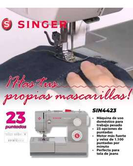 MAQUINA DE COSER SINGER SIN4423