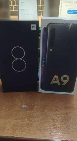 Xiaomi mi 8 y samsung A9