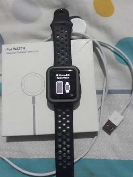 Reloj iphone watch  38mm serie 2 nike