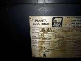 Planta electrica John Deere