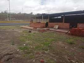 Terreno en la carretera E35 Salcedo pujili