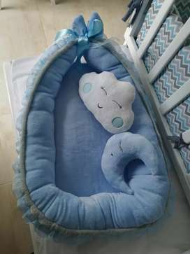 Cama Nido, cuna para bebé antialergico