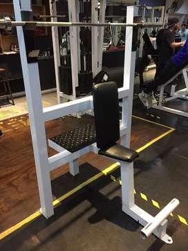 Oportunidad banco 90 grqdos hombros y 2 racks para sentadillas