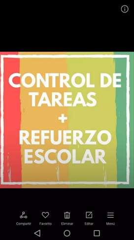REFUERZO ACADEMICO & CONTROL DE TAREAS
