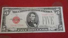 Billete Antiguo 1928 USA