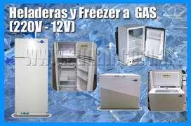 Heladeras a GAs, Heladeras y freezer a gas trial