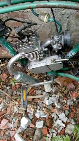 Vendo bici moto 8000
