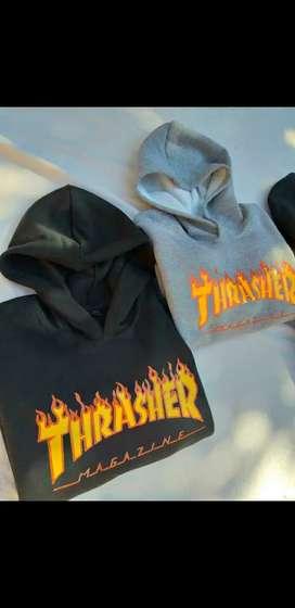 Buzos Thrasher con capuchas!! Talle M al XXL