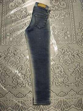 Pantalon Jean Mass Niña - Talle 8