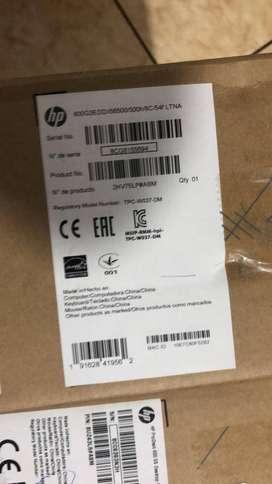 COMPUTADOR HP MINI MODELO 800 G3 COREI5-6500 500 GB 8 GB CON MONITOR HP P203 TECLADO Y MOUSE HP NUEVO SELLADO