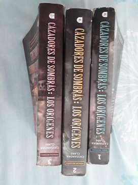 Libros Cazadores de Sombras