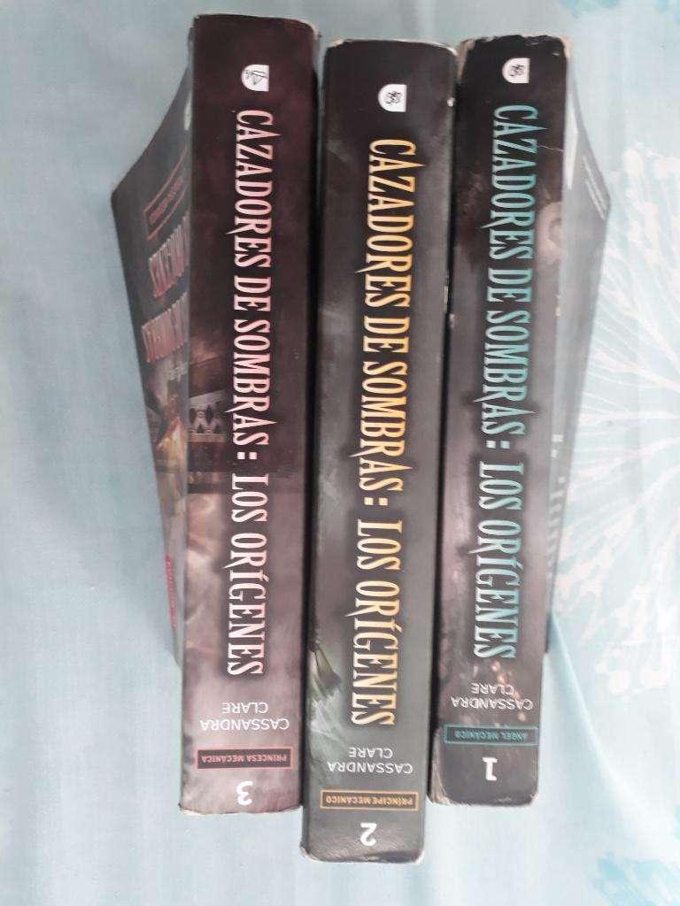 Libros Cazadores de Sombras 0