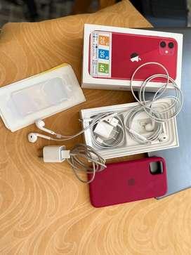 Iphone 11 color Rojo