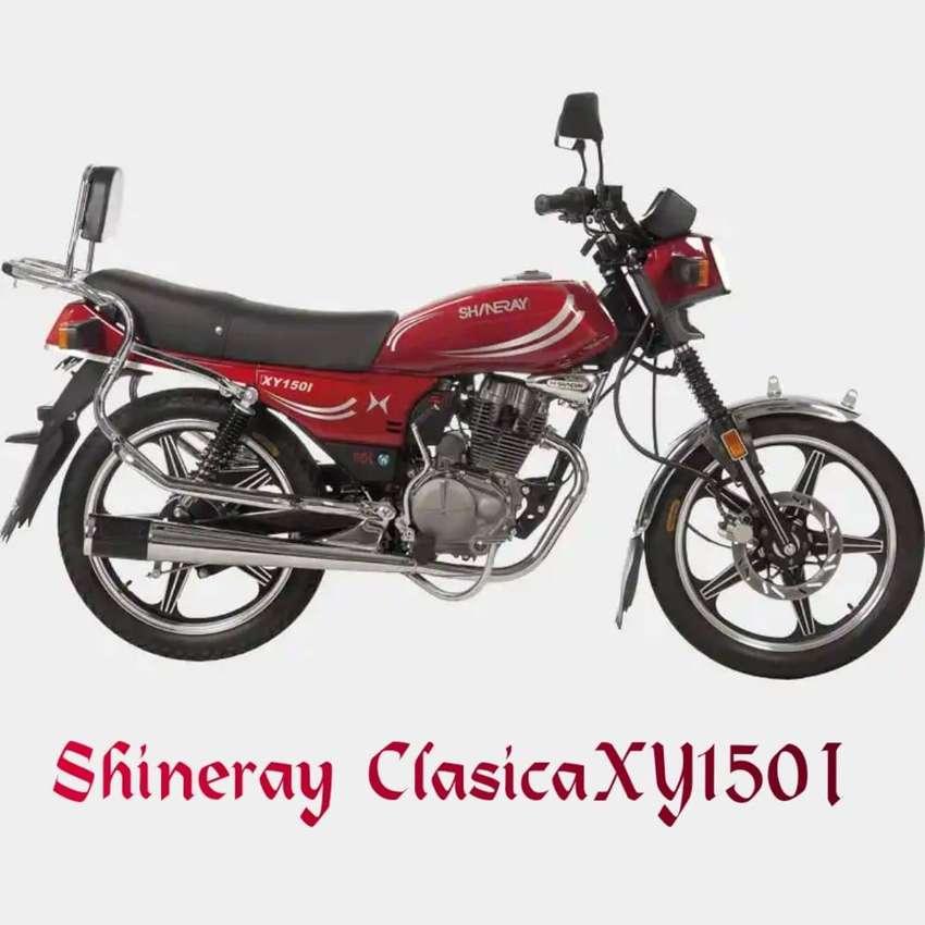 MOTO SHINARY CLASICA XY150I  ( 2020)   CHIMAS S.A. 0