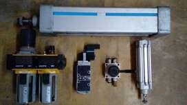 cilindro neumatico valvula electrovalvula filtro regulador lubricador automatizacion