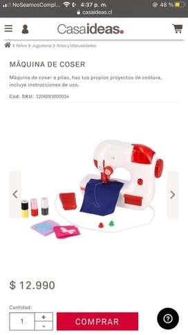 Maquina de coser / Casaideas / serie: niño ideas