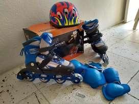 Se vende kit de patines completo negociables