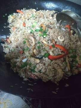 Cocinero de comida criolla