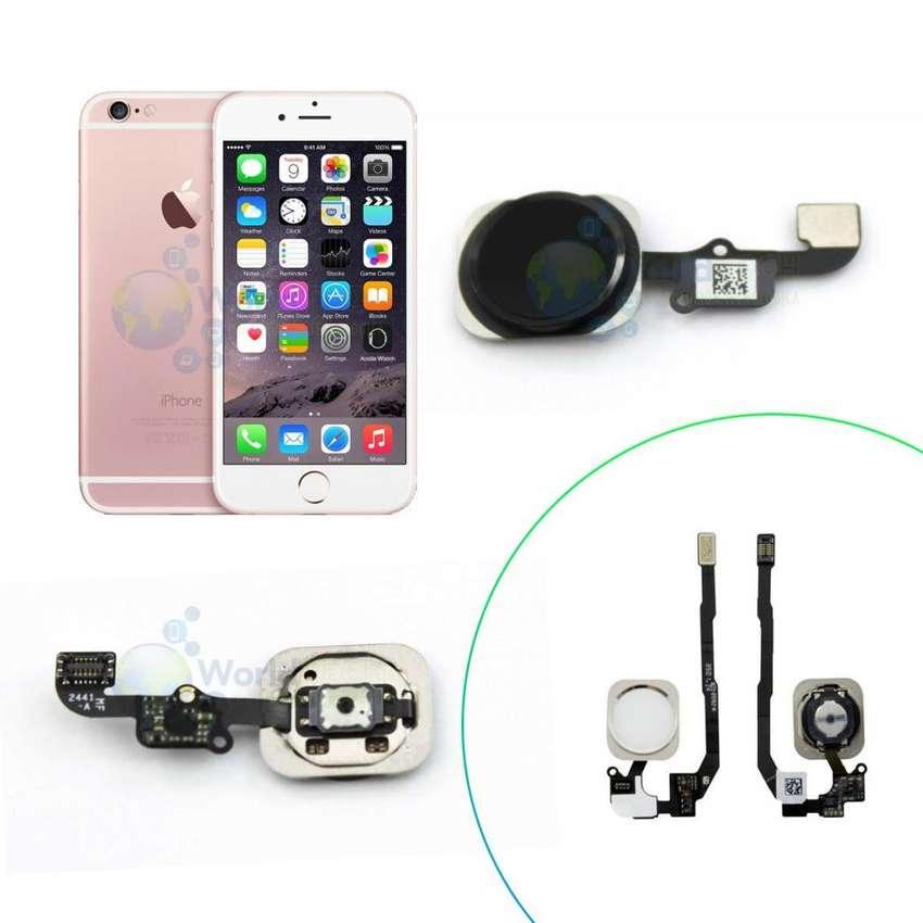 Flex Huella Home Iphone 4 4s 5 5s 5c Se 6 6s Plus 7 Sensor 0